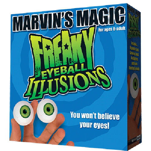 제이엘매직 프리키아이볼일루젼(Freaky Eyeball Illusions by Marvin Magic - Trick)