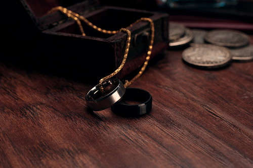 #TrickMagic EDC Ring black 10