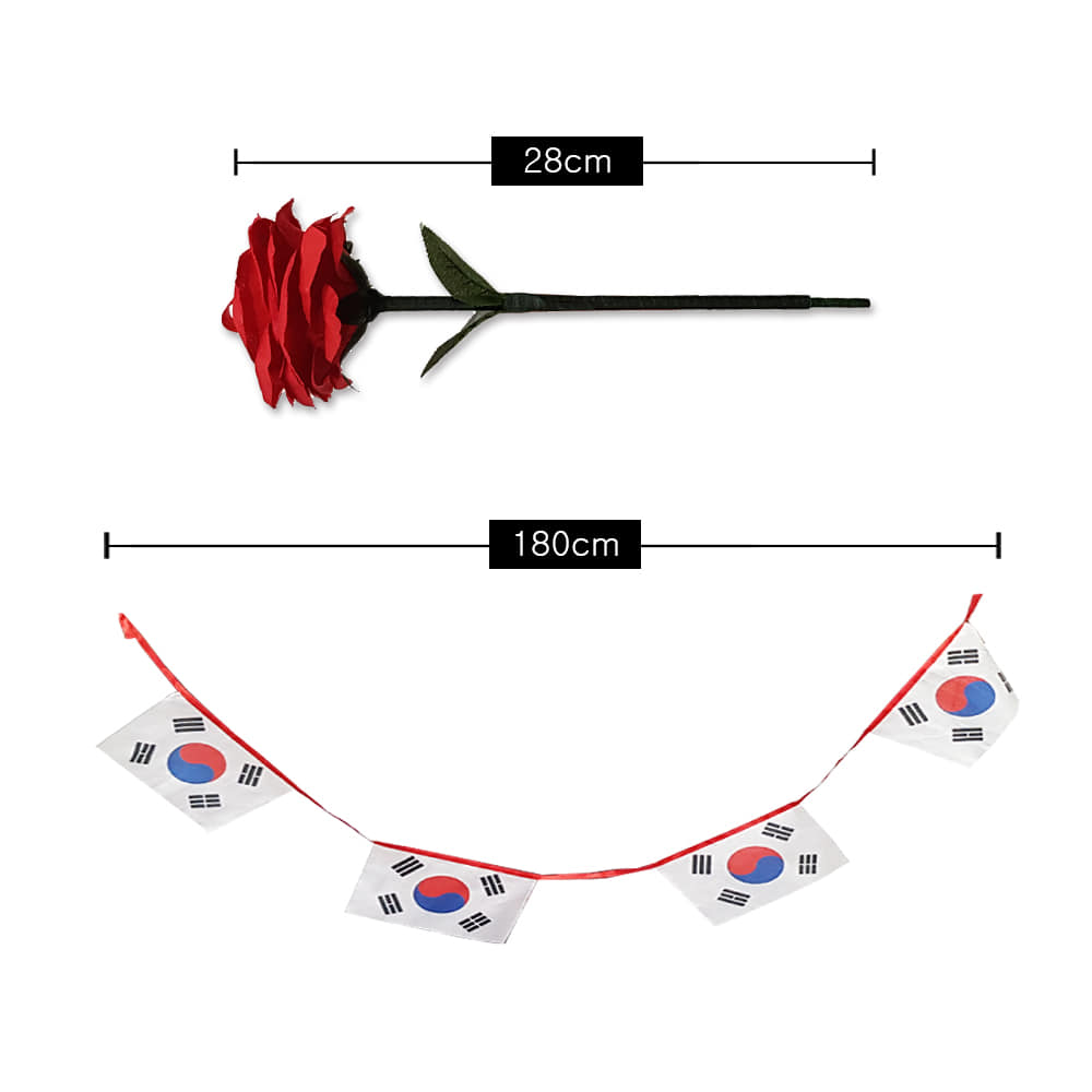 로즈실크투블랜도_태극기(Rose silk to Blendo _ The National Flag Of Korea)