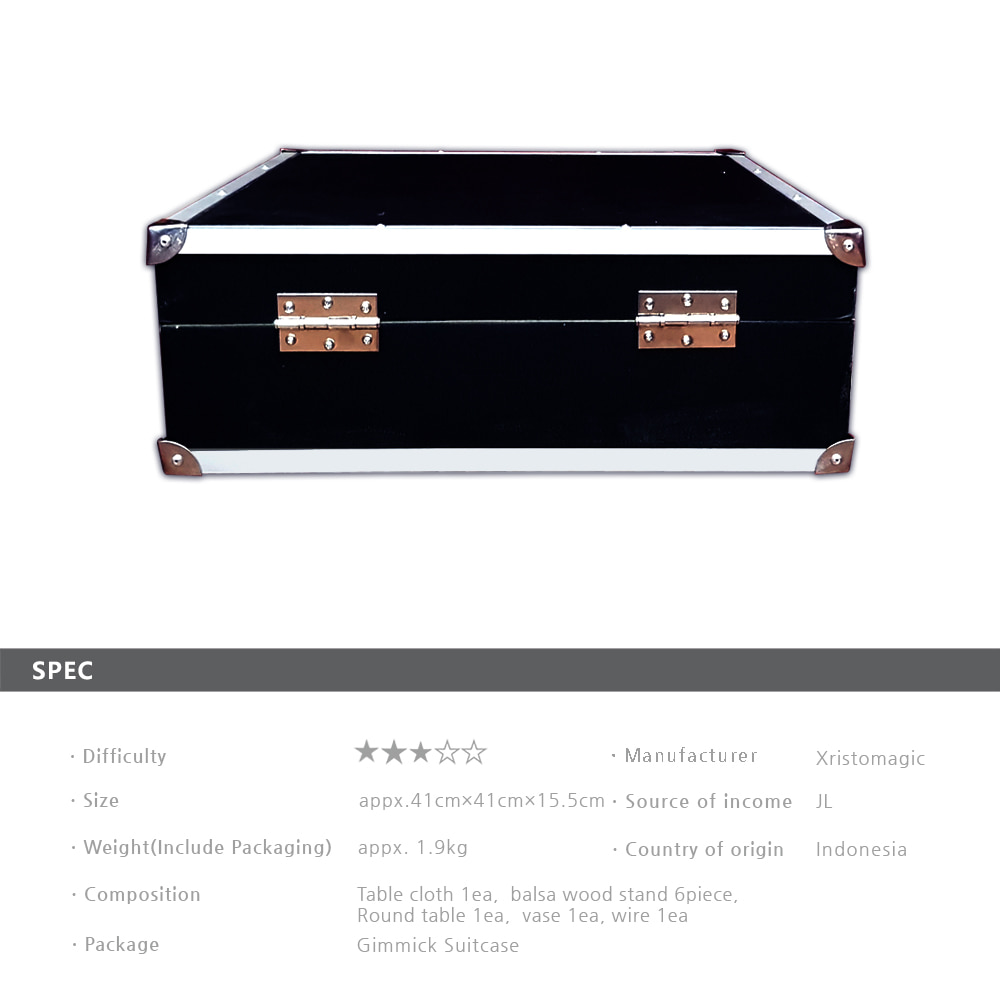 고급플로팅테이블*V2(자석기믹)-가방포함(Advanced Floating Table*V2(Magnet Gimmick)-Including suitcase)