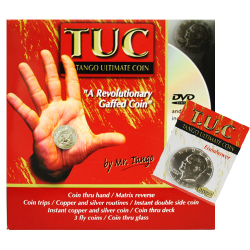 제이엘매직 [선주문상품]탕고T.U.C아이젠하워달러DVD(Tango Ultimate Coin (T.U.C)(D0109)Eisenhower Dollar with instructional