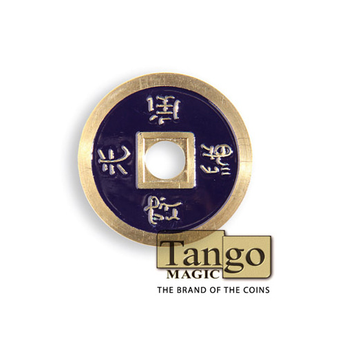 제이엘매직 노말차이나코인-다크퍼플(쇠 Normal Chinese Coin made in Brass (Dark Purple) by Tango-Trick)