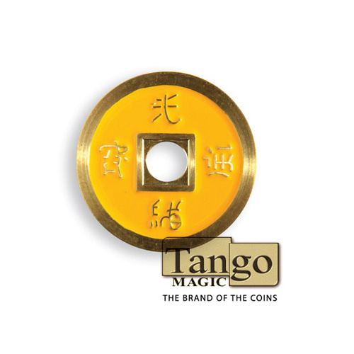 제이엘매직 노말차이나코인-옐로우(쇠 Normal Chinese Coin made in Brass (Yellow) by Tango-Trick)
