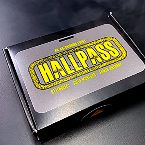 ***홀패스(HALLPASS (Gimmicks and Online Instructions) by Julio Montoro***홀패스(HALLPASS (Gimmicks and Online Instructions) by Julio Montoro