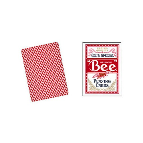 Cards Bee Poker size (Red)***Cards Bee Poker size (Red)***